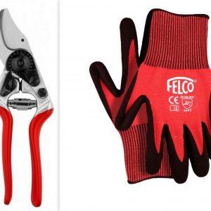 Felco 14 Snoeischaar + handschoenen